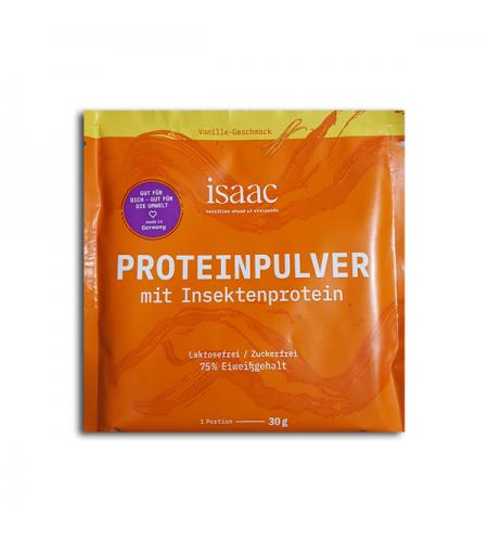 Suplemento de proteínas con insectos sabor vainilla