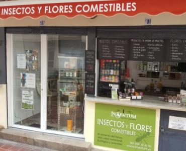 Insectum abre tienda física en Valencia
